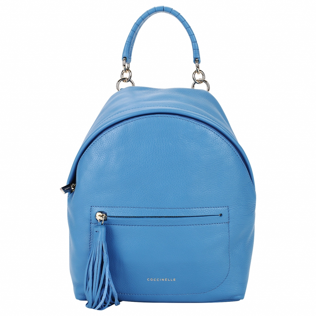 Кожаный рюкзачок на молнии Coccinelle Leonie